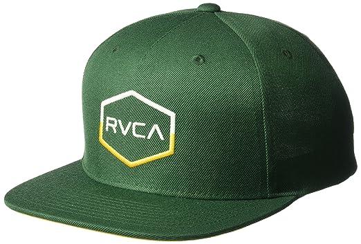 4d076062 Amazon.com: RVCA Men's Commonwealth Snapback Hat, Forest, EA: Clothing