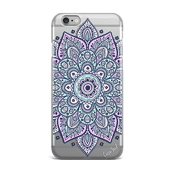 1128d796596 Image Unavailable. Image not available for. Color: Dakota Mandala Clear TPU  Phone Case for iPhone ...