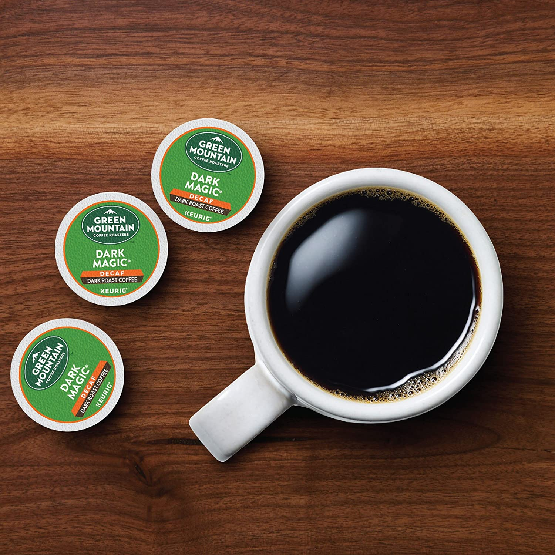9cb6211c7 Green Mountain Coffee Roasters Dark Magic Decaf, Single Serve Coffee K-Cup  Pod, Dark Roast, 72: Amazon.com: Grocery & Gourmet Food