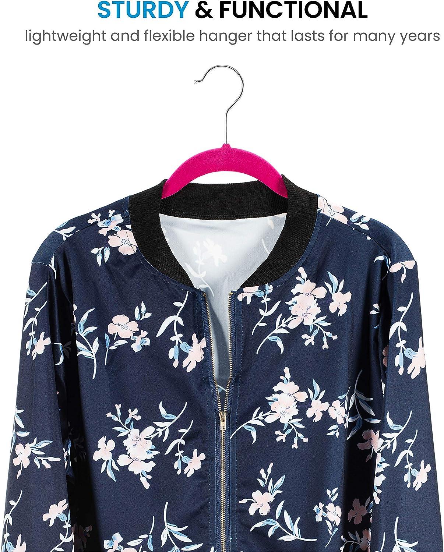 Premium Velvet Hangers 50 Pack blouse Heavy Duty Space Saving Velvet Coat Hanger Non Slip Clothes Hangers 360/° Swivel Hook Delicate Clothing Flock Suit Hangers for Jacket Dress Shirt
