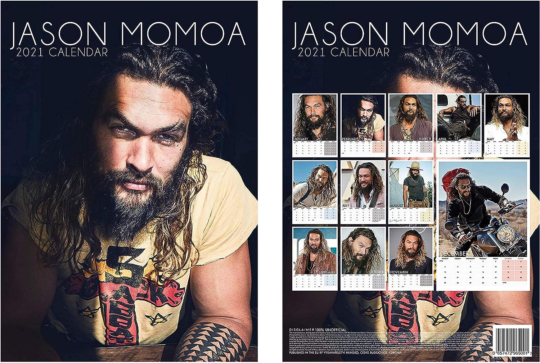 Jason Momoa Calendar 2021 Images