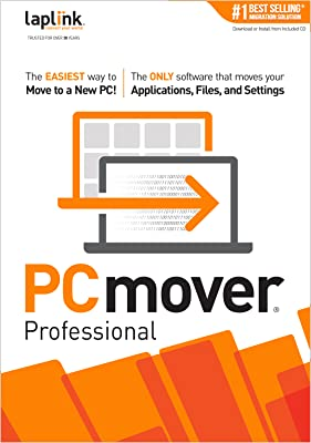 PCmover Professional 11 (1 Use) - The easiest way to move to a new PC! [Download]