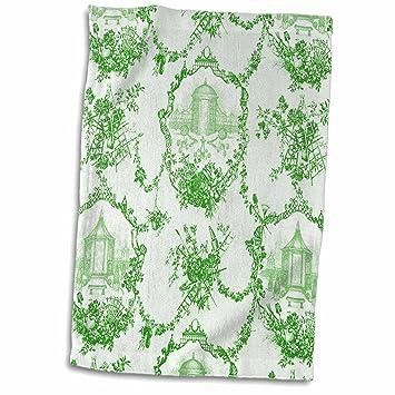 3dRose Garden - Toalla de baño con Estampado de Lima Francesa, 38,1 x 55,8 cm: Amazon.es: Hogar