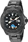 Invicta Men's 'Character Collection' Automatic Stainless Steel Casual Watch, Color:Black (Model: 24471)
