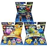 Warner Home Video -LEGO Dimensions Bundle: Adventure Time Team Pack, Ninjago Nya Fun Pack & Adventure Time Level Pack - Adventure Time Edition