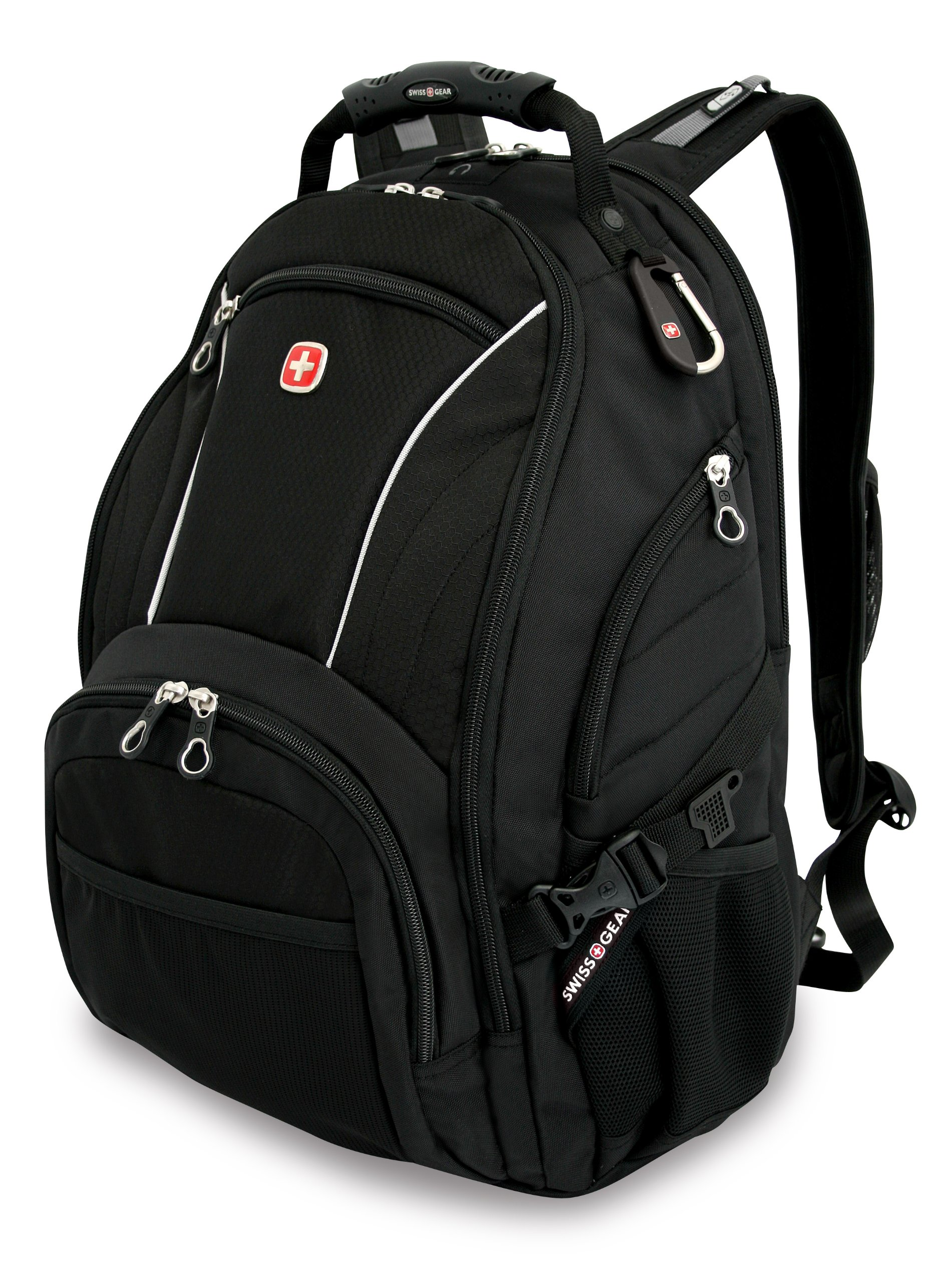 Swiss Gear SA3181 Black Computer Backpack - Fits Most 15 Inch Laptops and Tablets