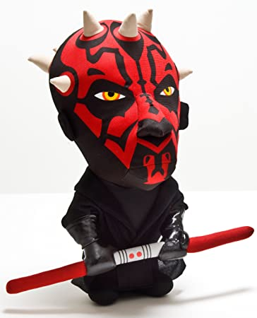 Amazon.com: star wars – Darth Maul – Figura de peluche ...