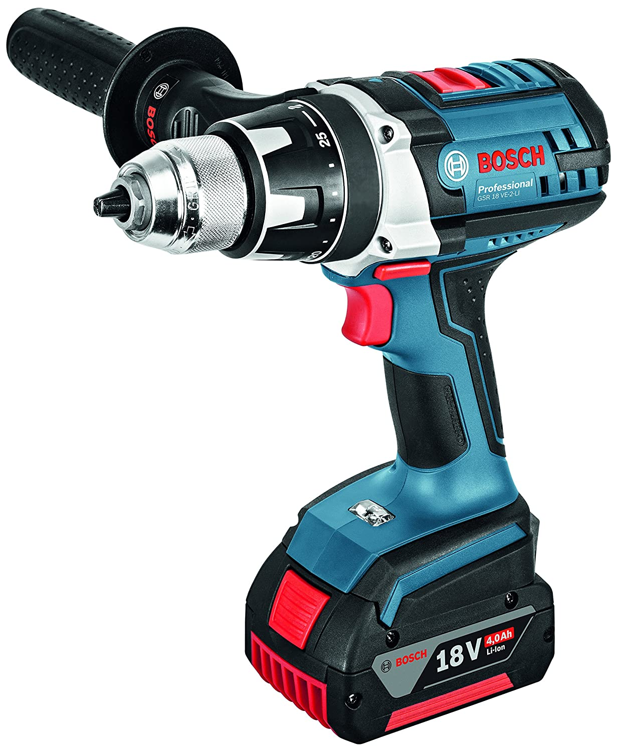 Bosch Professional 06019D9100 Perceuse-visseuse sans fil GSR 18 VE-2-Li   Amazon.fr  Bricolage e6b99e320541