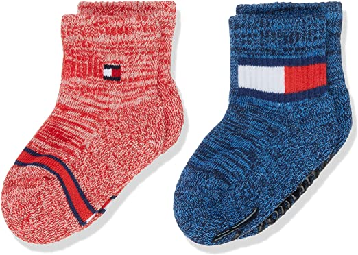 Tommy Hilfiger Th Baby Sock 2p Run Free Abs Calcetines, Multicolor ...