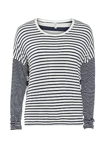 Soyaconcept Sabera 5 Camiseta Para Mujer, Color Marino, Talla XS