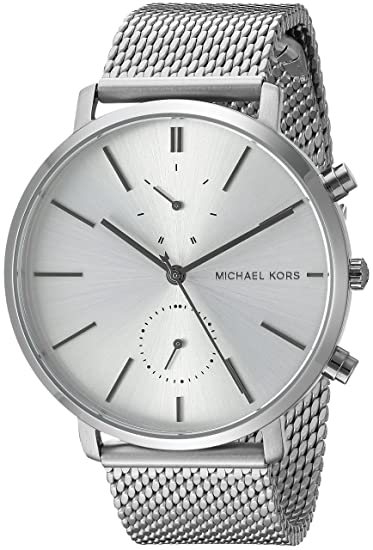 8b0bea2cd6c8 Michael Kors Men s Jaryn Silver Watch MK8541  Amazon.ca  Watches