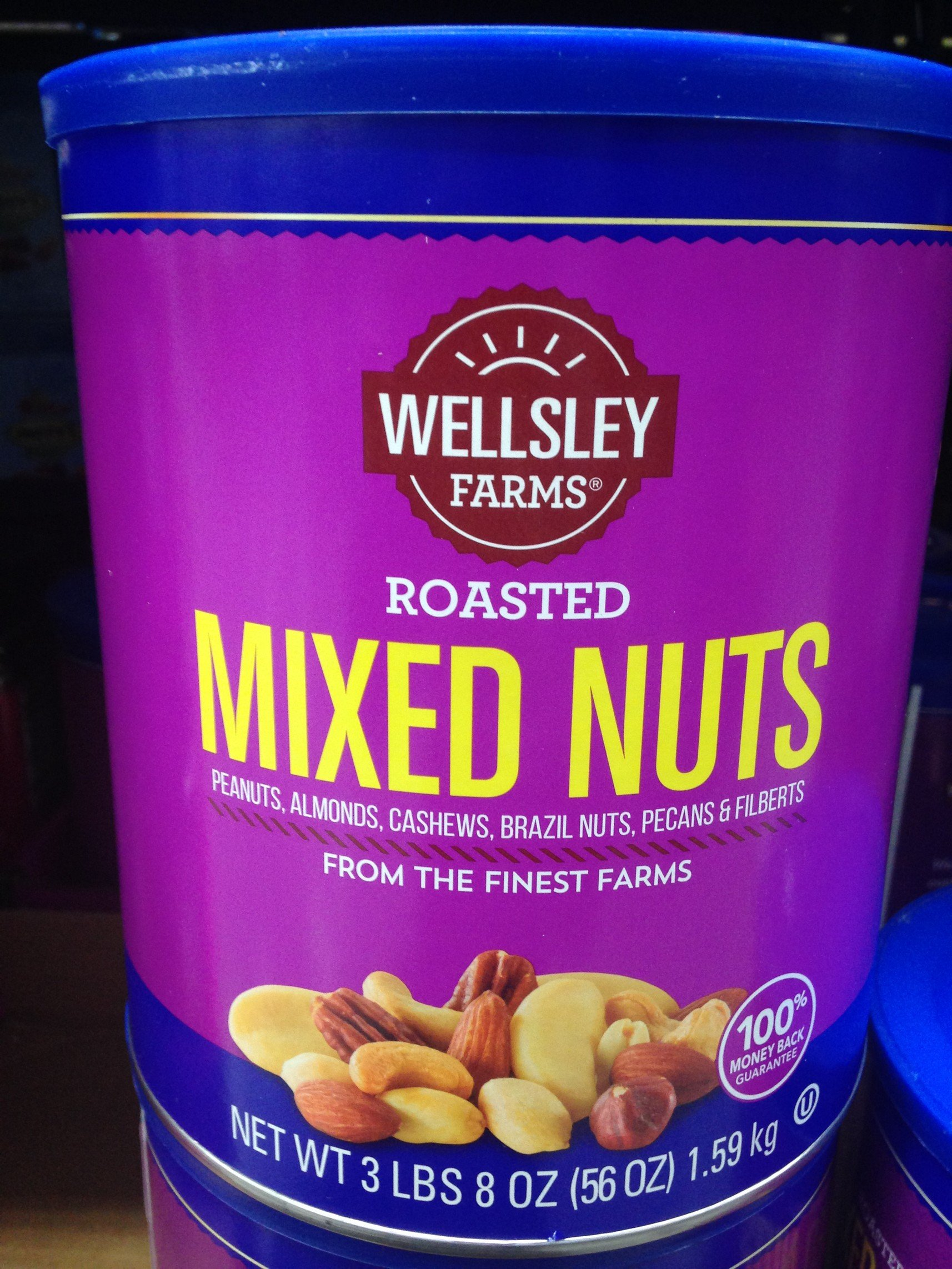 Wellsley Farms mixed nuts 56 oz (pack of 6)