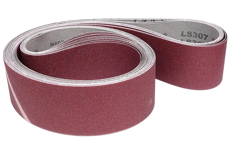 2 x P40,P60,P80,P120 et P180 LS 307 X Klingspor LS 307 X Lot de 10 bandes abrasives pour ponceuse Dimensions : selon le choix