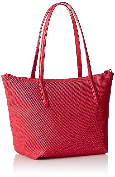 1c3753186c8 Amazon.com: Lacoste L.12.12 Concept Medium Shopping Bag, Virtual Pink:  Clothing