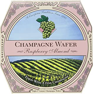 product image for Champagne Wafer, Raspberry Almond, 7-Ounce Box (Pack of 3)