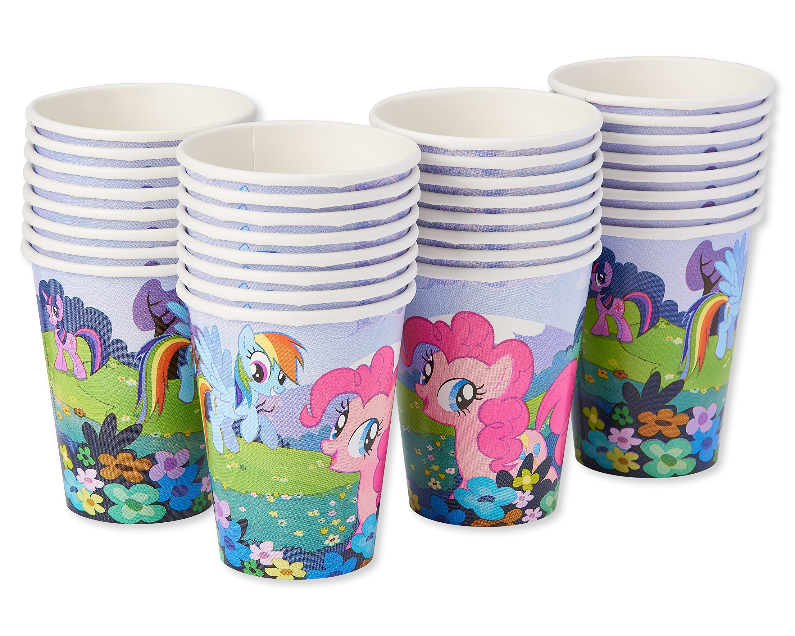 American Greetings My Little Pony Paper Party Cups, 32-Count, Paper Cups by American Greetings