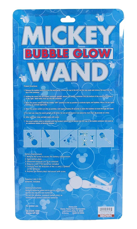 Open Request Bubble Blowing Fun Michaelieclark Elc Froggie Blower 139401 Amazoncom Disney Parks Exclusive Mickey Mouse Light Up Glow Wand