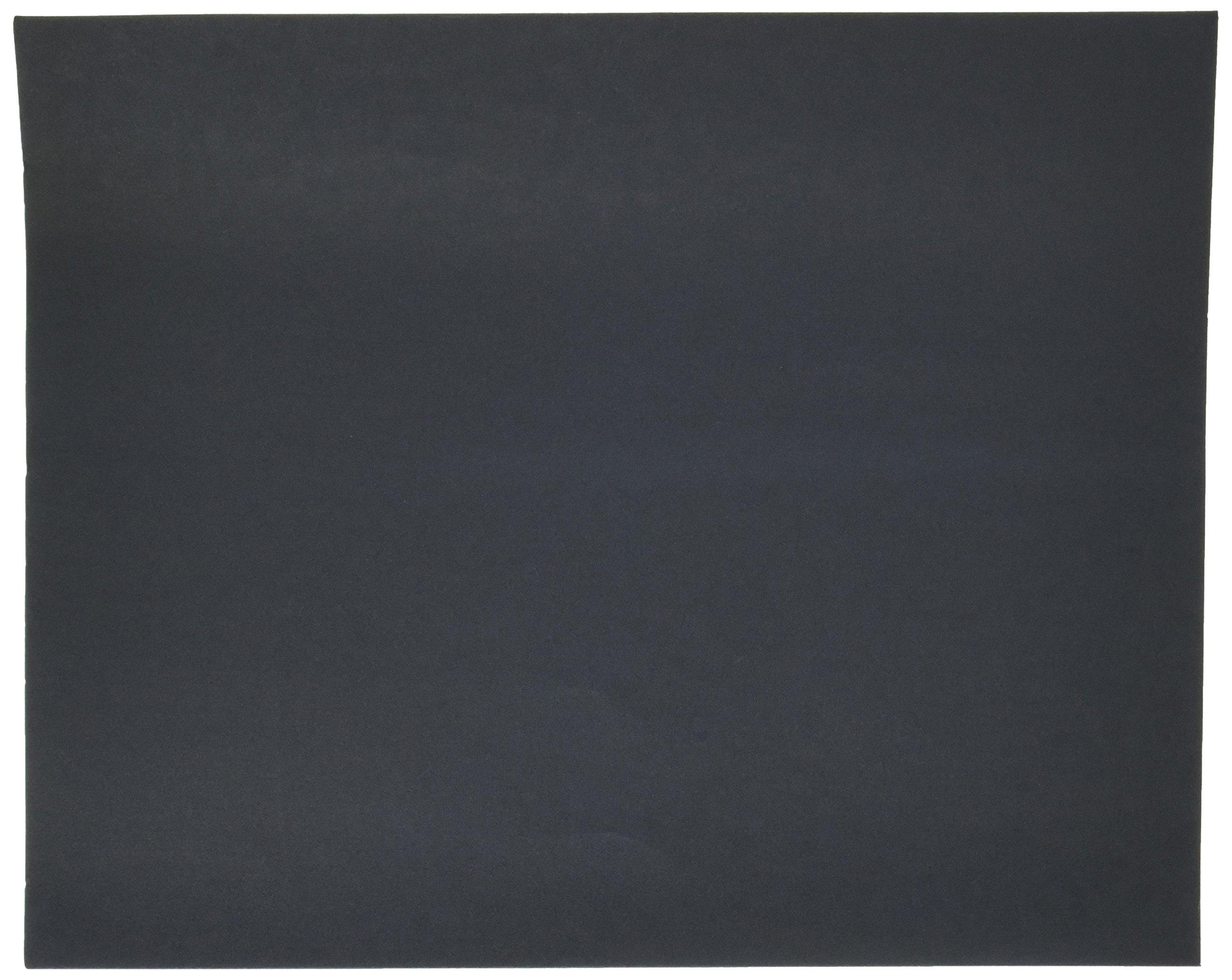 Norton T414 Blue-Bak Abrasive Sheet, Paper Backing, Silicon Carbide, Waterproof, Grit 320  (Pack of 10)