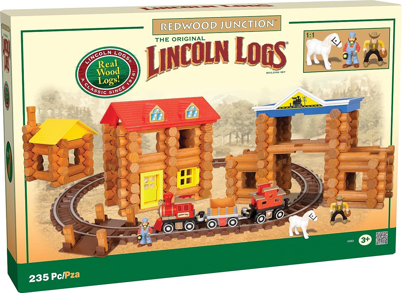 amazon com lincoln logs redwood junction amazon exclusive toys