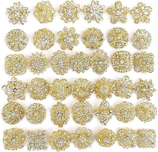 cactus brooch sparkling rhinestone pin clothing Brooch wholesale assorted crystal rhinestone Bridal Wedding brooch button Decoration