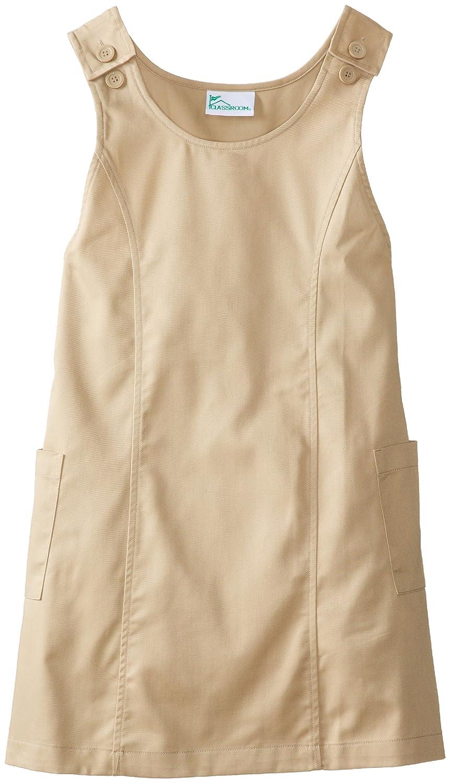 Classroom Uniforms CLASSROOM Big Girls' Plus-Size Plus Princess Seam Jumper 54913