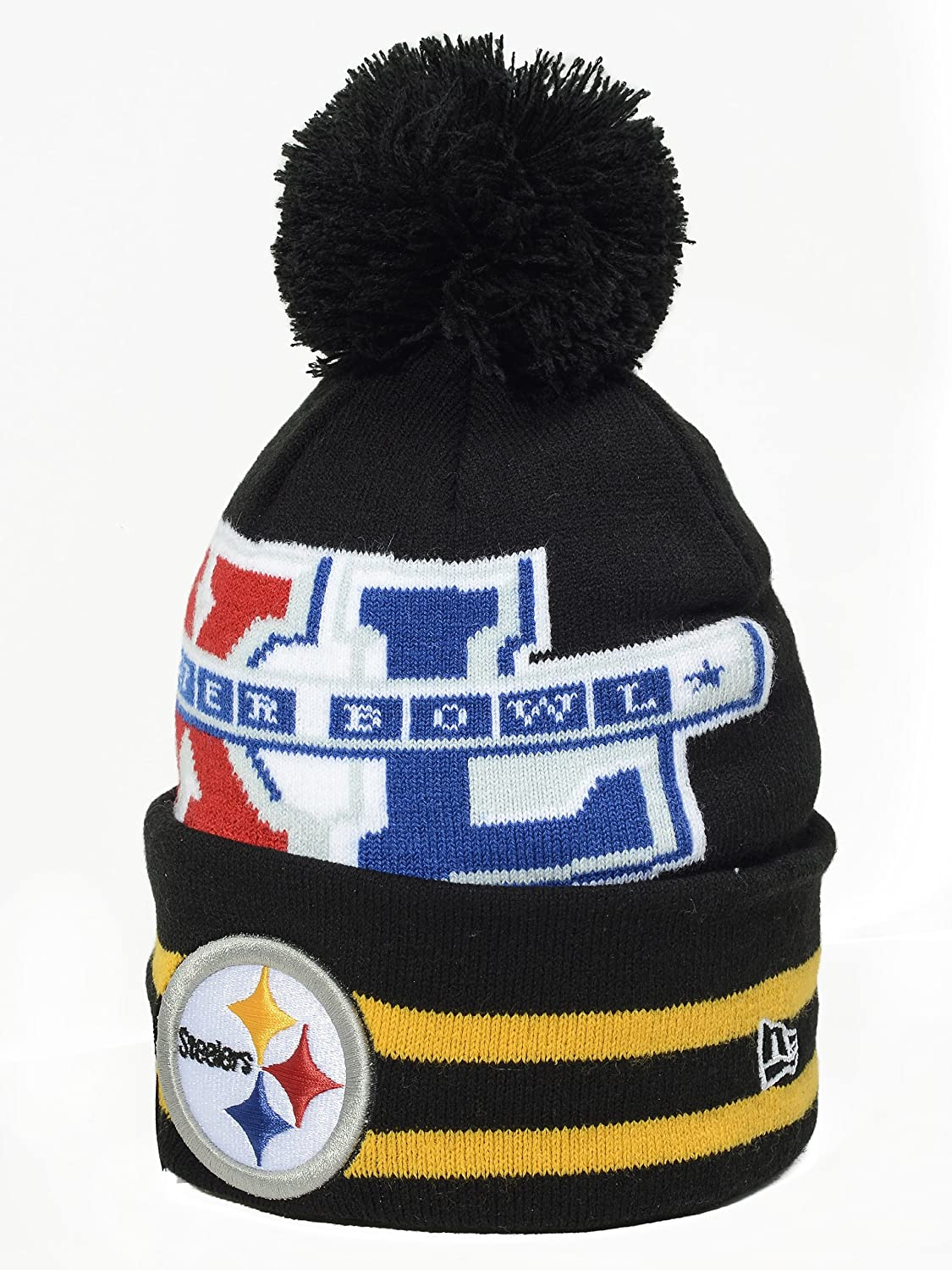 New Eraチームニットキャップ  Steelers Super Bowl Wide Point Team colors B00HQ2T1CS