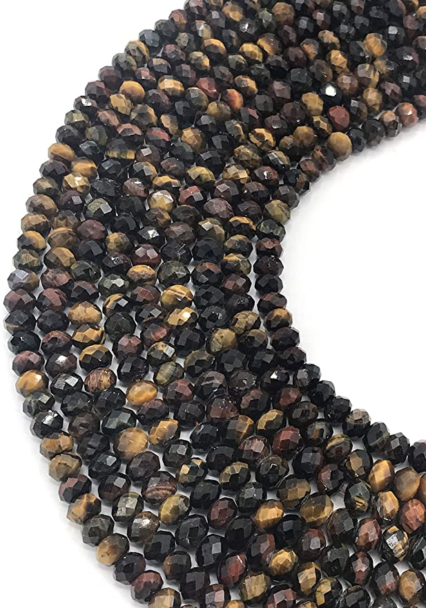 Natural Gemstone Fine Quality Multi Color Tourmaline Rough Uncut Beads Necklace 7 to 8MM Size Beads Full 16.5 Inch Strand Complete Necklace