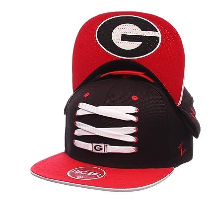ZHATS Georgia Bulldogs Lacer Eclipse Adjustable Snapback Cap - NCAA Flat  Bill 342c05d3dc16