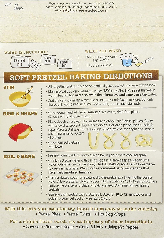 Amazon Fleischmanns Simply Homemade Baking Mix Pretzel