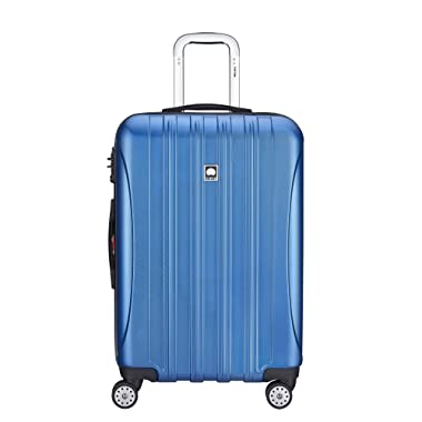 DELSEY Paris Delsey Luggage Aero Textured Expandable 25 Inch Spinner  Blue