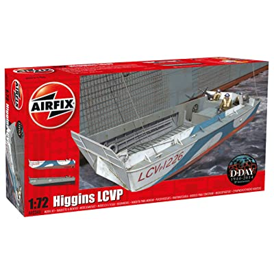Airfix 1:72 Higgins LCVP Kit (): Toys & Games