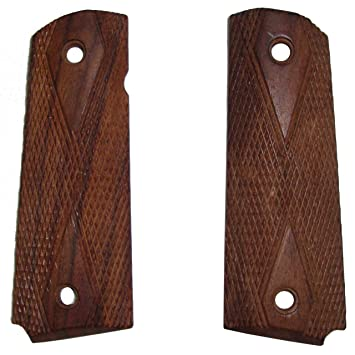 WWII US M1911 / 1911  45 Wooden Pistol Grips - Reproduction