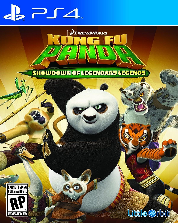 Amazon Com Kung Fu Panda Showdown Of Legendary Legends Playstation 4 Little Orbit Video Games