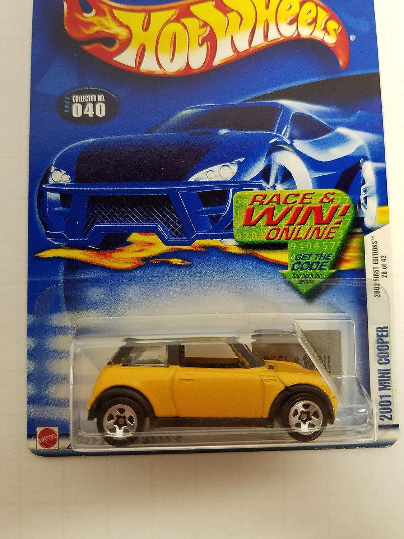 2001 Mini Cooper Hot Wheels 2002 diecast 1/64 scale car No. 040