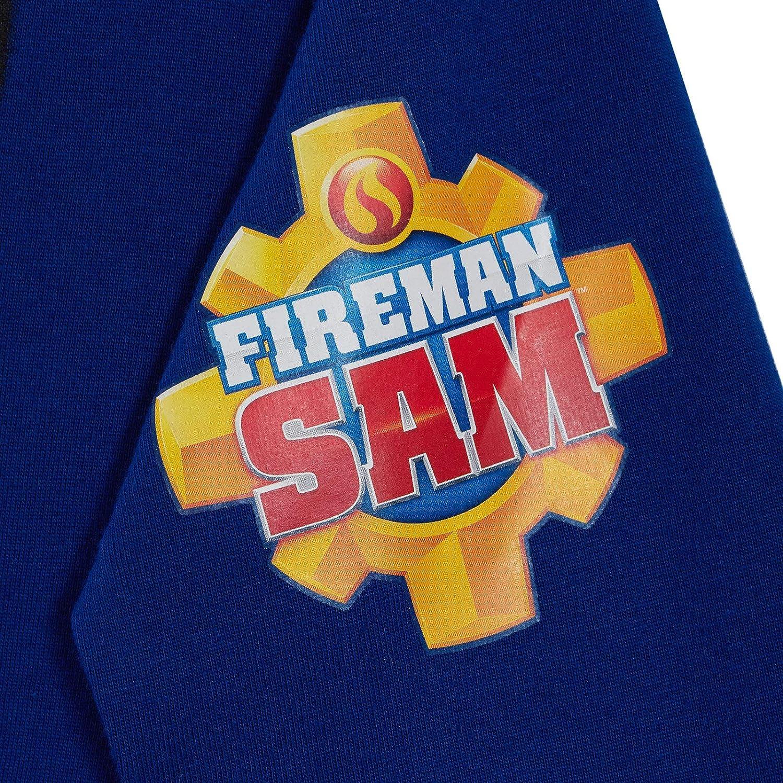 Boys Official Fireman Sam Rescue Character Pyjamas Kids