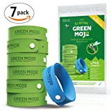 Amazon Price History for:Green Mojo 100% Natural Mosquito Repellent Bracelet - Six (6) Pack + 1 Bonus - Safe & Easy Personal Mosquito Repeller - Extra Wide For Perfect Outdoor Insect Repellent - Safe for Kids