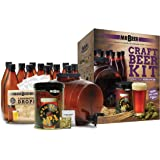 Mr. Beer IPA Edition 2 Gallon Homebrewing Craft Beer Making Kit with All Grain Extract Beer Refill and Convenient 2 Gallon Fermenter