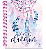 "Daisy Student Planner 2018-2019 Academic Year Daily Planner August 2018 Through July 2019 Elementary Through Middle School Calendar Agenda (7"" x 9"") - Dream Catcher"