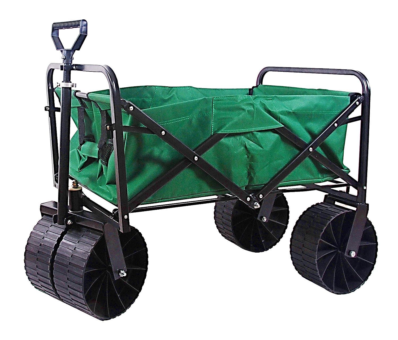 Edsal Sandusky FBW3621 Light Duty Folding Utility Wagon, Green EDSAL SANDUSKY CORPORATION ZHONGSHAN