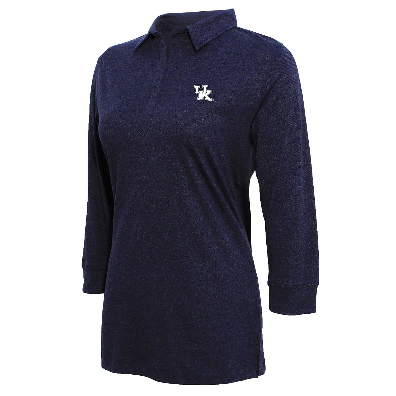 Navy//White NCAA Arizona Wildcats Womens Campus Specialties Striped 3//4 Sleeve Tee X-Large