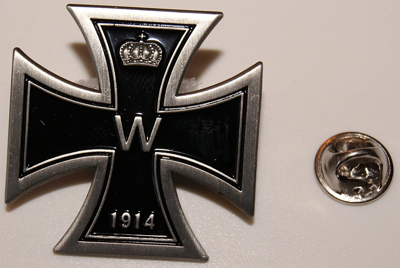 Bekleidung & Schutzausrüstung Emblem 3D PVC Bundeswehr mit Adlerkopf Klett Abzeichen Eisernes Kreuz