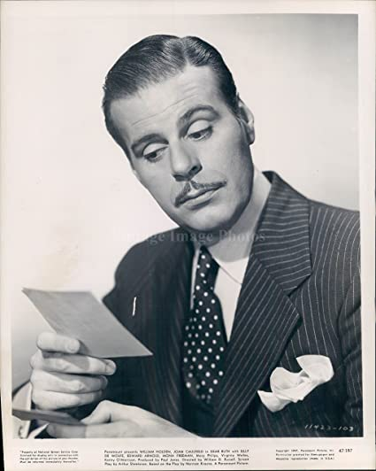 Amazon com: Vintage Photos 1947 Photo Billy De Wolfe Actor