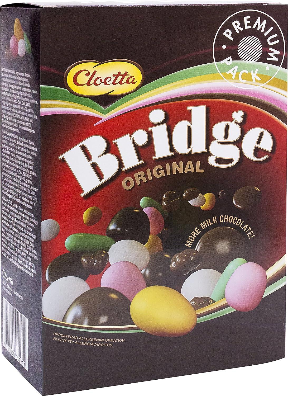 18x CLOETTA BRIDGE ORIGINAL BOX SCHOKOLADE 360g Incl. Goodie von ...
