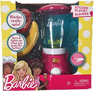 Barbie Kitchen Playset Blender