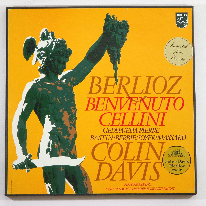Berlioz: Benvenuto Cellini Large special price Colin Davis Recording First Special price