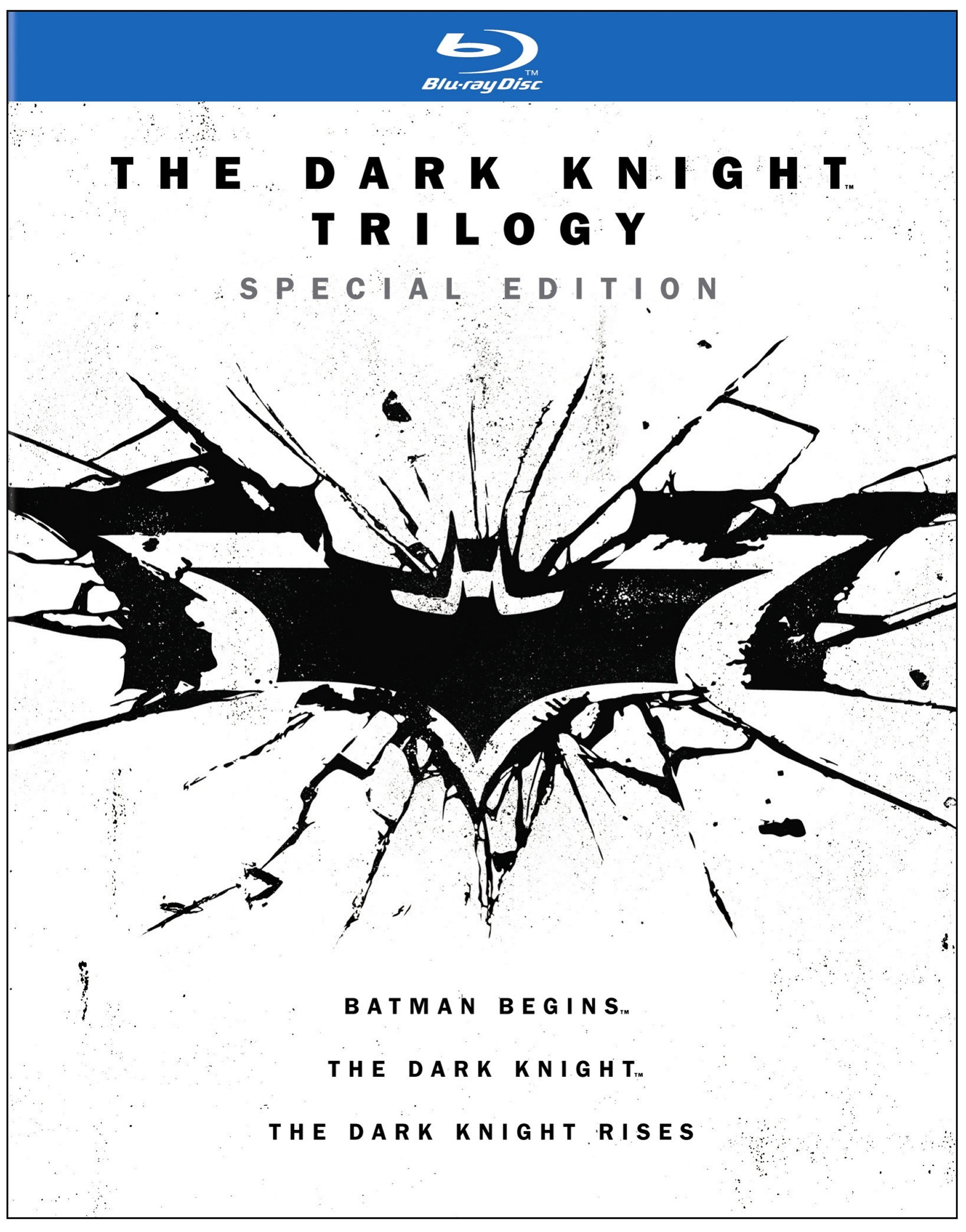 Blu-ray : The Dark Knight Trilogy (Special Edition) (Special Edition, Slipsleeve Packaging, 6 Disc)