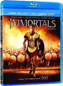 Immortals / Les Immortels (Bilingual) [Blu-ray + DVD]
