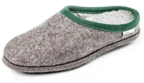 Orthopant Pantofole in Feltro Baita - Feltro e cottone per Una ... 7daf277072f