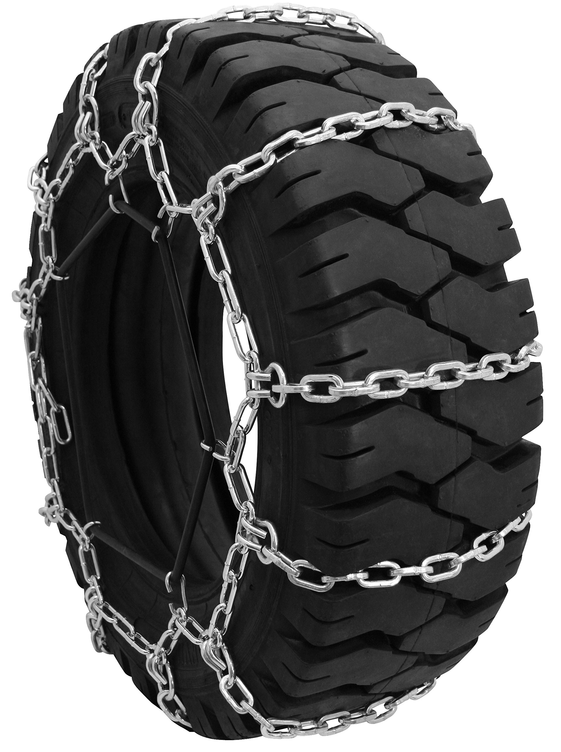 Grizzlar GTU-111 Square Rod Forklift Chain 7.00-12, 7.00-15NHS, 8.15-15, 27x8.50-15NHS, 28x9-15, 28x9.5-15, 29x8-15, 29x9-15, 30x8-15NHS by Grizzlar