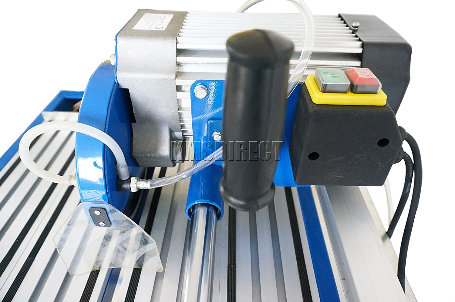 Foxhunter electric ceramic tile cutter professional cutting foxhunter electric ceramic tile cutter professional cutting machine 1250w motor sliding wet saw 850mm with table blue amazon diy tools dailygadgetfo Images